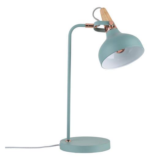 NAMIZNA SVETILKA 79651 - svetlo zelena/baker, Trendi, kovina/les (51/25,5/16cm) - Paulmann