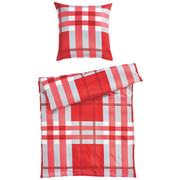 BETTWÄSCHE Satin Rot 135/200 cm - Rot, Basics, Textil (135/200cm) - Joop!