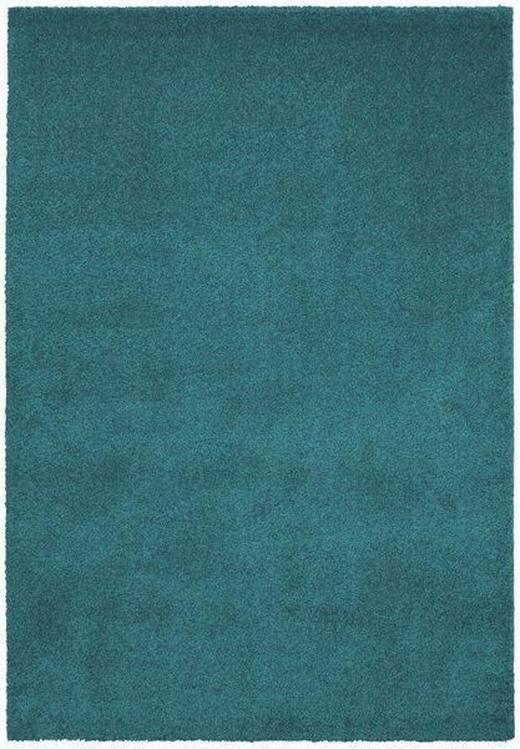HOCHFLORTEPPICH  200/290 cm   Türkis - Türkis, Basics, Textil (200/290cm) - Novel