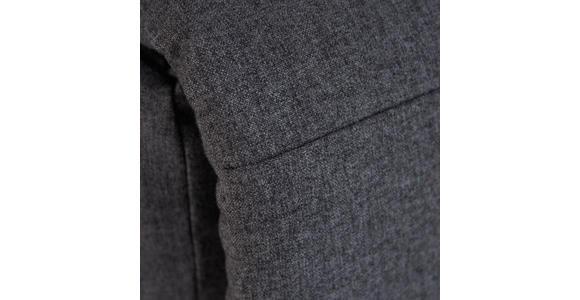 FERNSEHSESSEL in Metall, Textil Anthrazit  - Anthrazit/Weiß, KONVENTIONELL, Textil/Metall (76/87-102/93-156cm) - Carryhome