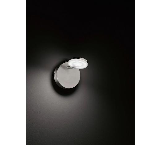 LED-STRAHLER - Nickelfarben, Design, Kunststoff/Metall (10/17/10cm)