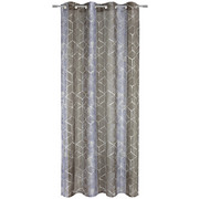 ÖSENVORHANG halbtransparent - Lila, Design, Textil (140/245cm) - Esposa