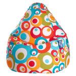 SITZSACK Kreise Multicolor  - Türkis/Multicolor, Design, Textil (90/70cm) - Carryhome