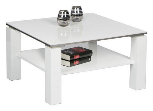 COUCHTISCH in Holzwerkstoff - Weiß, Design, Holzwerkstoff (75/75/41cm) - Carryhome