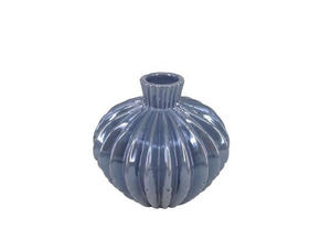 VAS - mörkgrå, Design, keramik (15,5/15cm) - Ambia Home