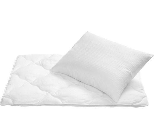BETTENSET SLEEPWELL 140/200 cm - Weiß, Basics, Textil (140/200cm) - Sleeptex