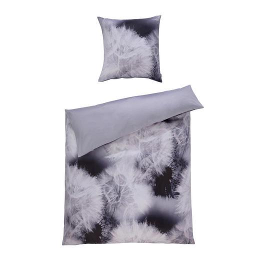 BETTWÄSCHE Makosatin Silberfarben 135/200 cm - Silberfarben, LIFESTYLE, Textil (135/200cm) - Estella