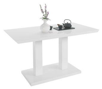 MATBORD - vit, Design, träbaserade material (140/80/75cm) - Carryhome