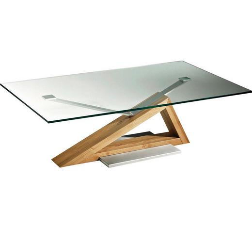 Couchtisch In Glas Holz Metall 120 70 45 Cm Online Kaufen Xxxlutz