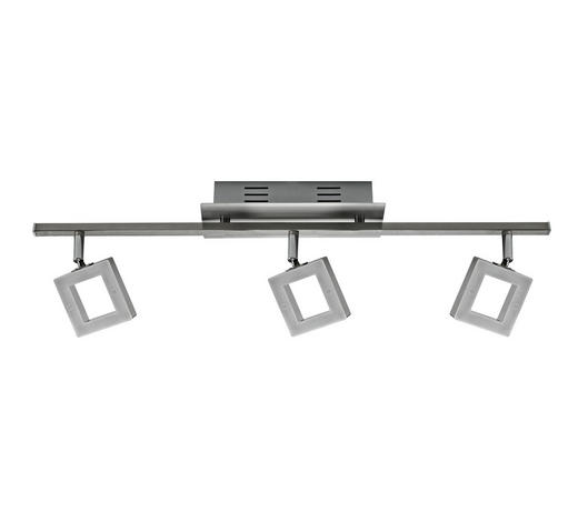 LED-STRAHLER - Chromfarben, Design, Kunststoff/Metall (60,5/8/19cm) - Novel