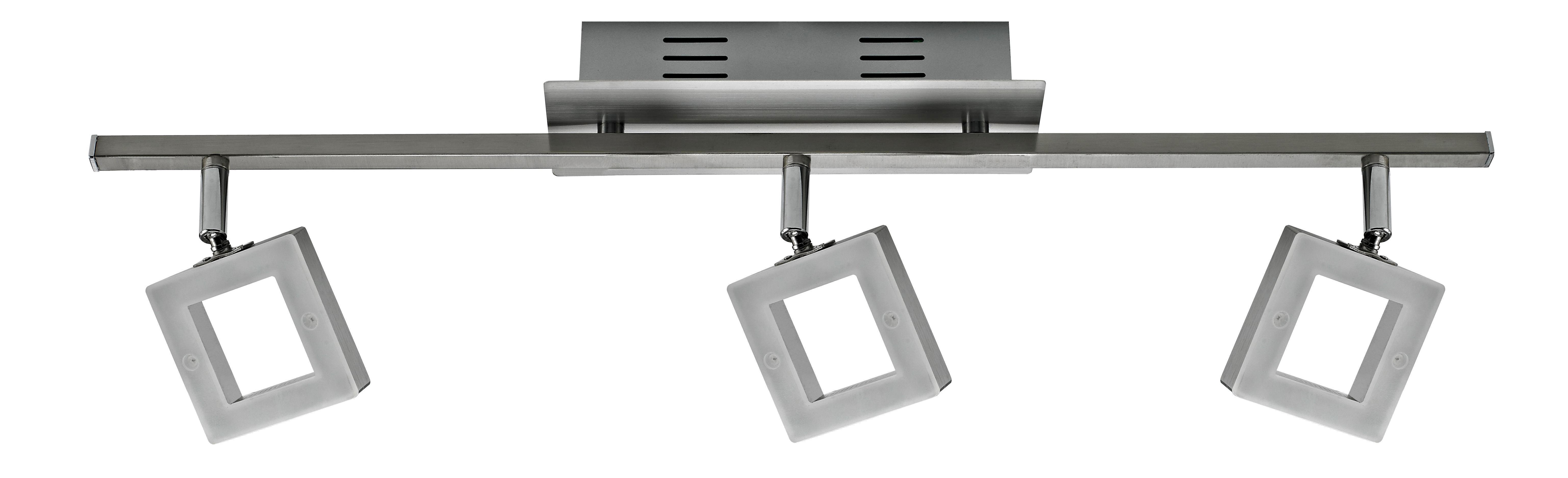 LED SVÍTIDLO - barvy chromu, Design, kov/umělá hmota (60,5/8/19cm) - NOVEL
