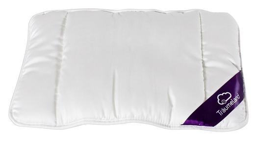 POLŠTÁŘ DĚTSKÝ - bílá, Basics, textil (40/60cm) - Träumeland