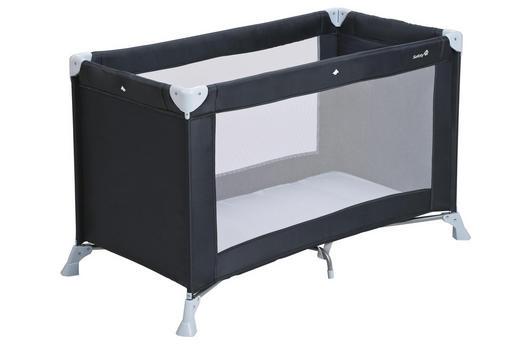 REISEBETT Soft Dreams Dunkelgrau - Dunkelgrau, Basics, Kunststoff/Textil (62/123/75cm) - Safety 1st