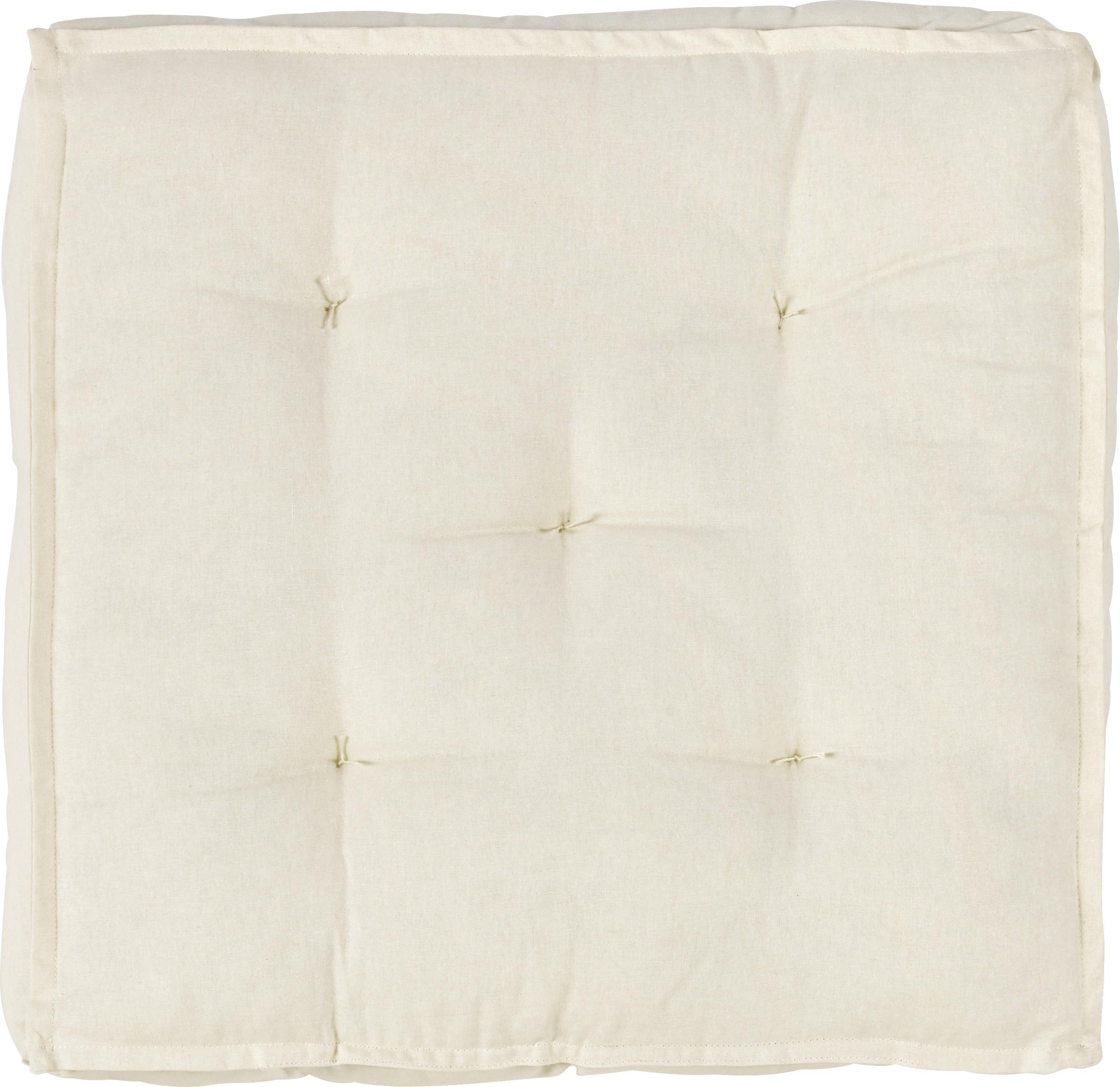 SITTDYNA - vit, Basics, textil (40/40/10cm) - Boxxx