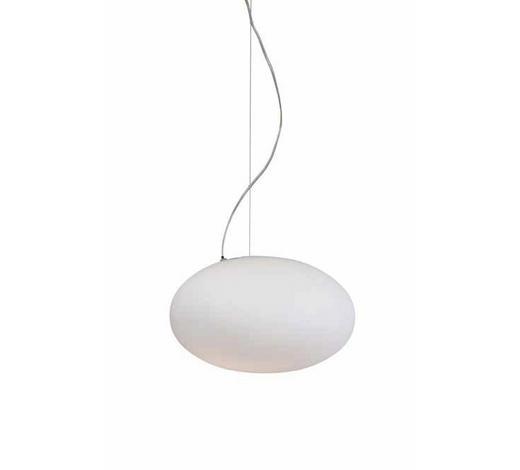 HÄNGELEUCHTE - Weiß, MODERN, Glas (40/150cm)