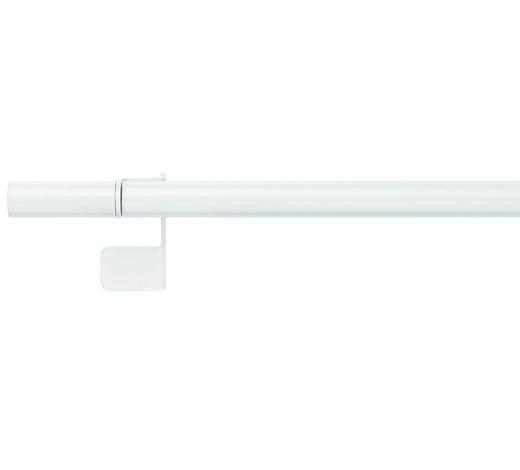 UPÍNACÍ TYČ - bílá, Basics, kov (58,3/3,5/4cm) - Homeware