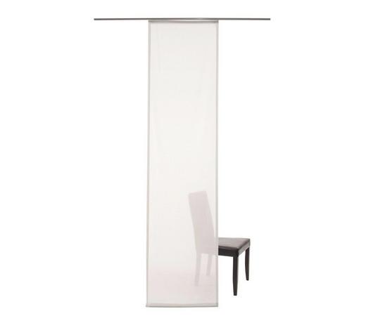 FLÄCHENVORHANG   transparent   60/245 cm  - Weiß, Textil (60/245cm)