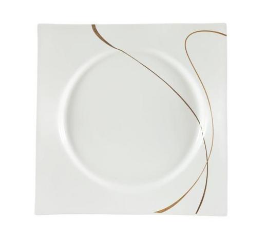TALÍŘ JÍDELNÍ, porcelán - bílá/hnědá, Design, keramika (26,5cm) - Ritzenhoff Breker