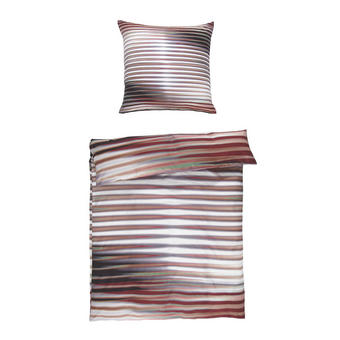 BETTWÄSCHE Satin Multicolor - Multicolor, Textil (155/220cm) - Novel