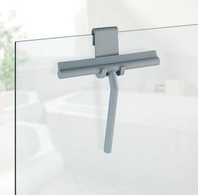 DUSCHSKRAPA - grå, Basics, metall/plast (21/24,5/4cm)