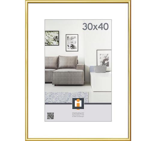 RÁM NA OBRAZY, 41/31/1.75 cm, barvy zlata - barvy zlata, Basics, umělá hmota/sklo (41/31/1.75cm)
