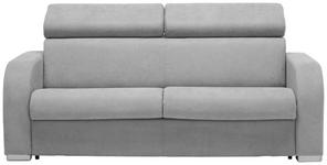 SCHLAFSOFA in Textil Grau  - Grau, KONVENTIONELL, Holz/Kunststoff (194,8/83,2/94,5cm) - Venda