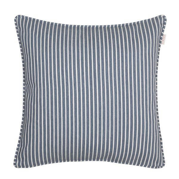 KISSENHÜLLE Blau, Weiß 45/45 cm - Blau/Weiß, Textil (45/45cm) - ESPRIT