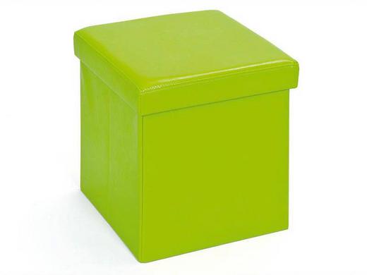 DEKOBOX Grün - Grün, KONVENTIONELL, Textil (38/38/38cm) - Carryhome
