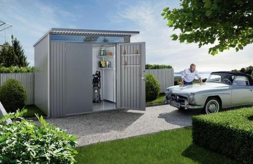 Gartenhaus Metall Global