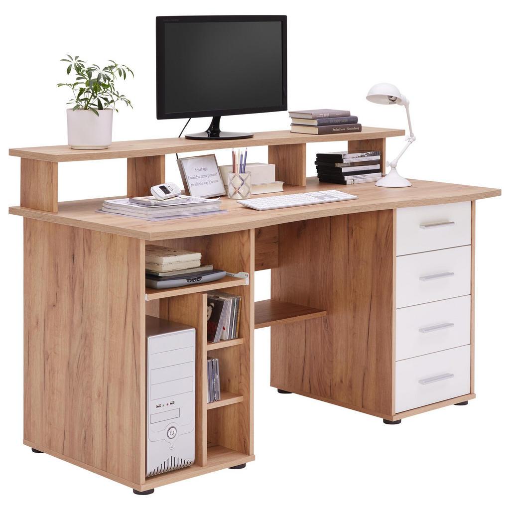 Cantus COMPUTERTISCH Weiß | Büro > Bürotische > Computertische | Kunststoff | Cantus