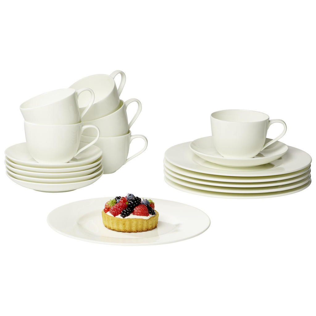 Villeroy & Boch New bone china kaffeeset 18-teilig