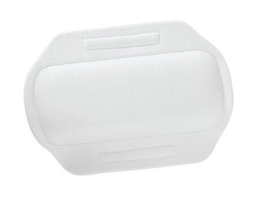 BADEWANNENKISSEN - Weiß, Basics, Kunststoff (34,5/24/2,3cm)