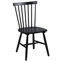 ŽIDLE, dřevo, černá, - černá, Design, dřevo (49/86/49cm) - Carryhome