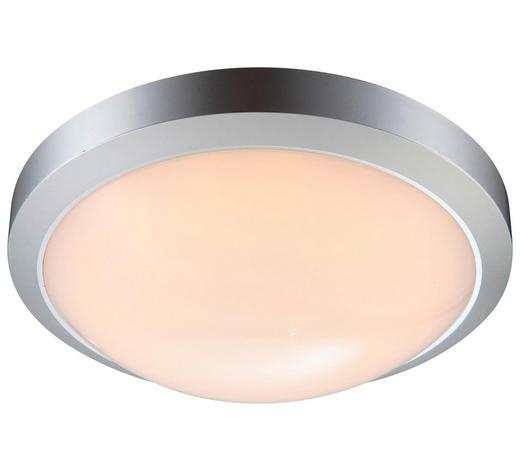 AUßENDECKENLEUCHTE - Silberfarben, KONVENTIONELL, Kunststoff (27/8,5cm)