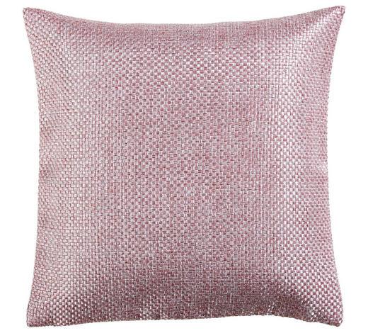 KISSENHÜLLE Rosa 40/40 cm  - Rosa, Design, Textil (40/40cm) - Novel