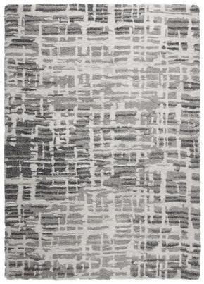 VÄVD MATTA - silver, Design, textil (130/190cm) - Novel