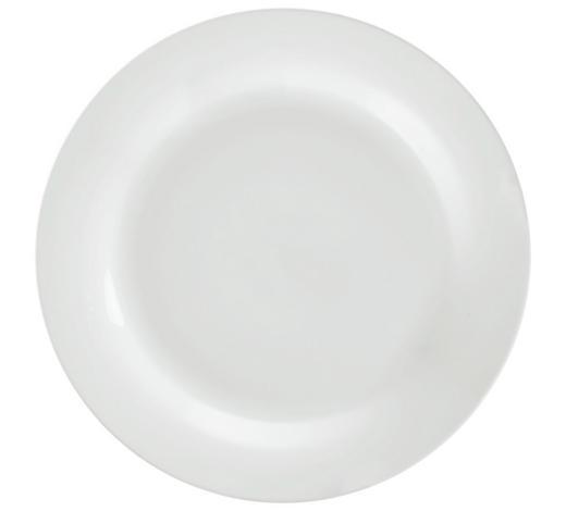 SPEISETELLER 27,5 cm  - Weiß, Basics, Keramik (27,5cm) - Homeware