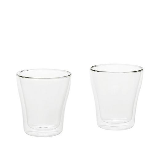 ESPRESSOGLAS  - Klar, Design, Glas (0,075l) - Leonardo