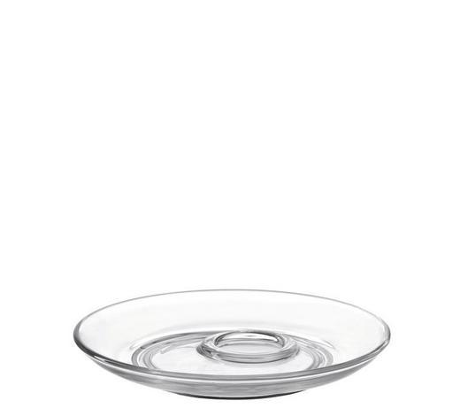 UNTERTASSE - Transparent, Basics, Glas (14,50cm) - Leonardo