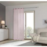 ZÁVĚS HOTOVÝ - růžová, Basics, textil (135/245cm) - Esposa