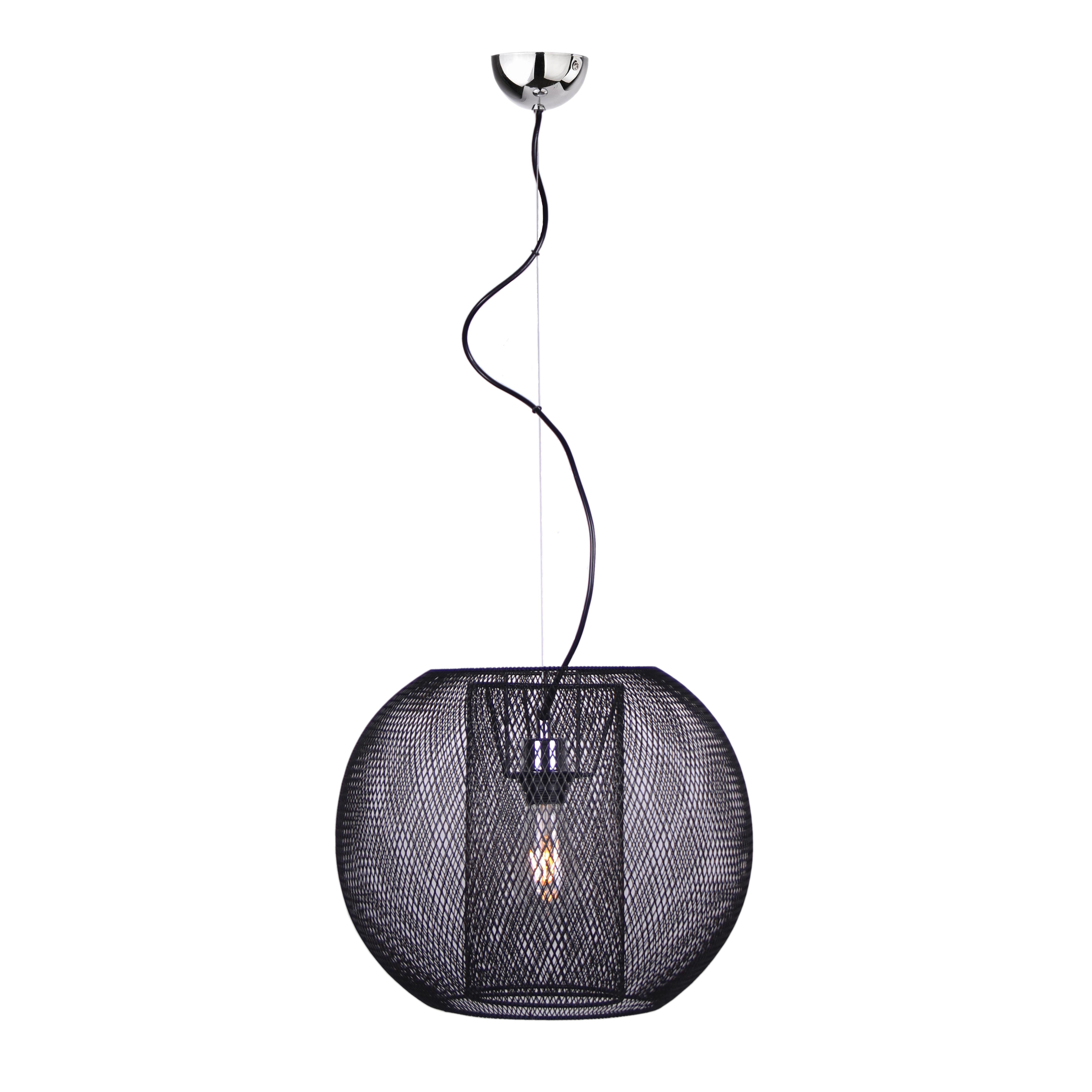TAKLAMPA - svart, Trend, metall (40/150cm) - Dieter Knoll