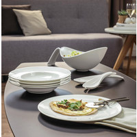 TELLER Keramik Bone China  - Weiß, Basics, Keramik (33cm) - Villeroy & Boch