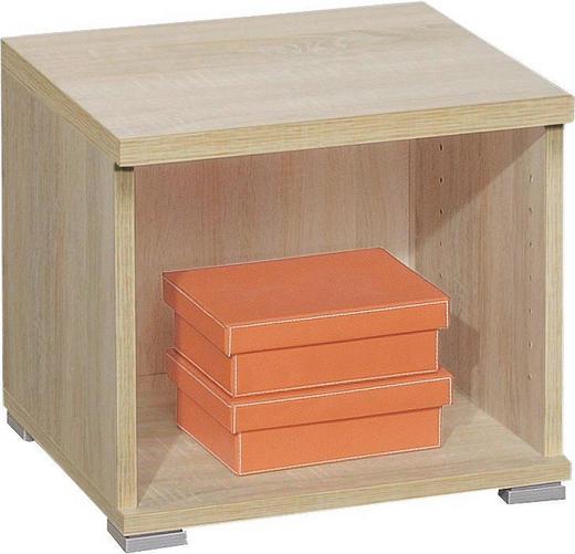 REGAL Eichefarben - Eichefarben/Silberfarben, Design, Kunststoff (44/39/38cm) - CS SCHMAL