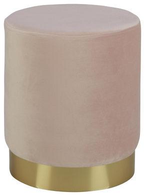 PALL - ljusrosa/guldfärgad, Trend, metall/träbaserade material (35/40/35cm) - Xora