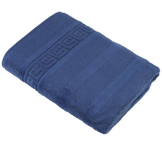 DUSCHTUCH - Blau, Basics, Textil (80/160cm) - Cawoe