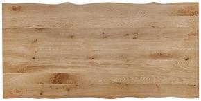 BORDSSKIVA - ekfärgad, Natur, trä (200/100/6cm) - Valdera
