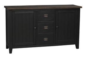 SIDEBOARD - brun/grå, Lifestyle, metall/trä (153/85/45cm) - Rowico