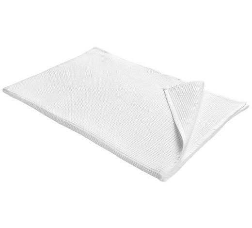 ÜBERWURF - Weiß, Basics, Textil (140/200cm) - Esposa