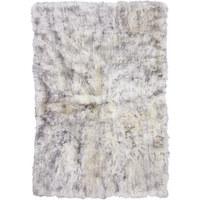 SCHAFFELL - Weiß/Grau, Natur, Textil (120/180cm) - Linea Natura