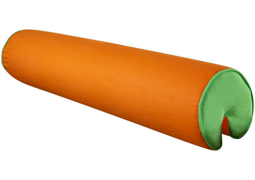 NACKENROLLE - Orange/Grün, Design, Textil